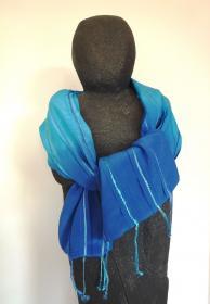 textiel_kunst_blauw_zijde_jenny_reynaert_wulpen_turkoise-satin
